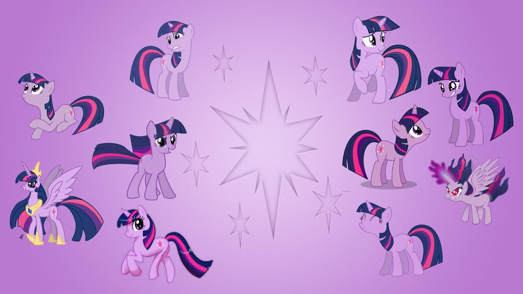 Twilight Sparkle Wallpaper Collab by EqFAzrael