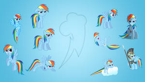Rainbow Dash Wallpaper Collab