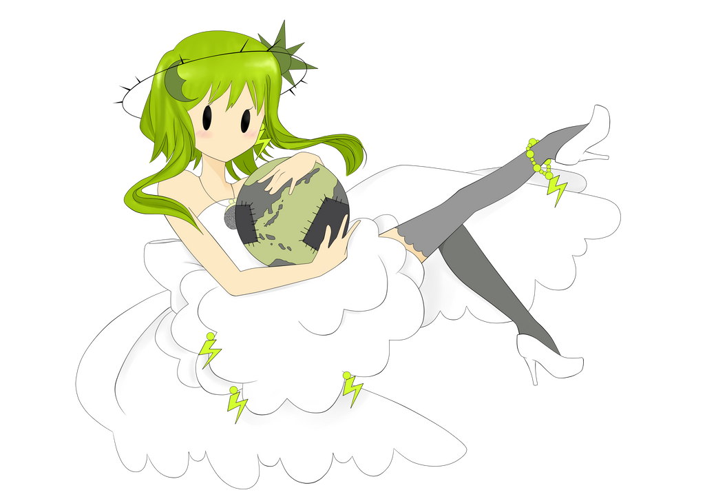 God's and Energy Cheapskate (GUMI) by SirMimsyPompingdon