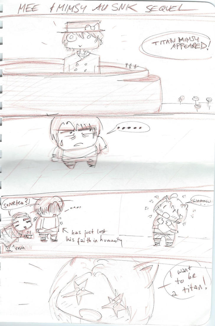 Mimsy and Mee-chan's SNK- Volume 4 (1/2) by SirMimsyPompingdon