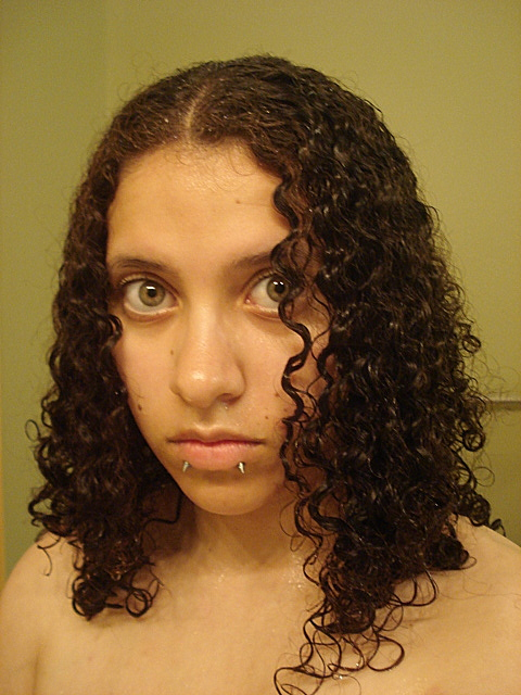how to style wet curly hair curly hair by emowolfie on deviantart 2623 | wet curly hair by emowolfie