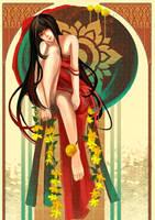 - Red lady - by zeenine