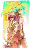 Summer rain by zeenine