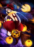 Halloween riding by zeenine