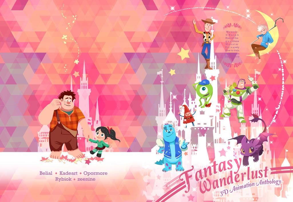 Fantasy Wanderlust by zeenine