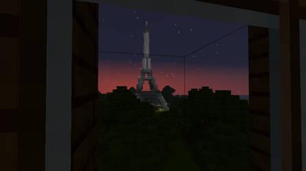 Minecraft - Eiffel Tower