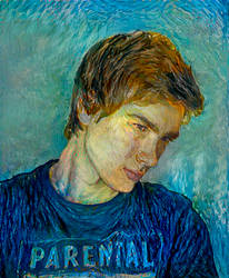 Van Gogh Style Selfie