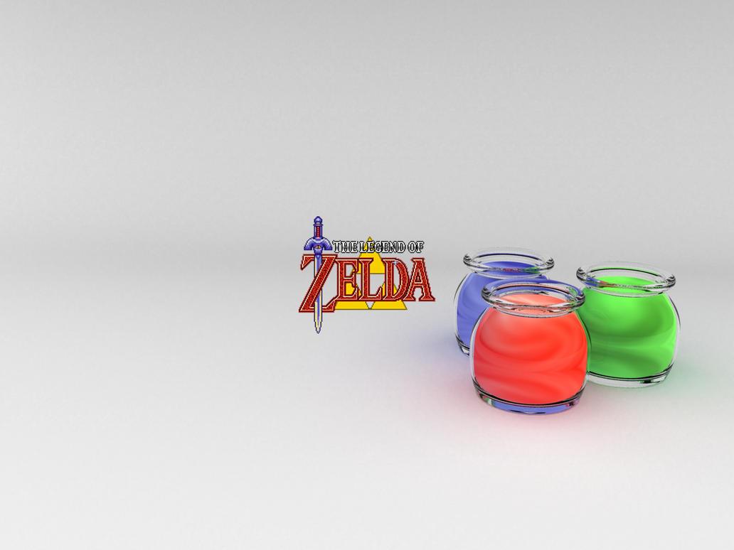 Zelda Wallpaper by garetth