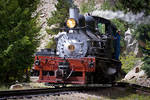 Steam Engine No. 9 (Color) by JYB-Photography