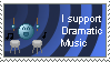 I Support Dramatic Music Stamp by CAlle-Evan