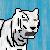White Tiger Icon by CAlle-Evan