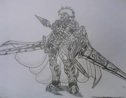 Paladin ready for war
