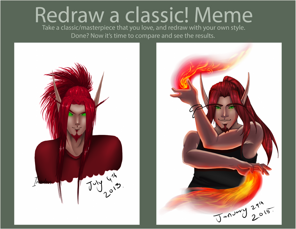 Redraw Meme: Indan by Inceadeus