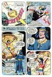 Wonder Woman Captured by Felix Faust