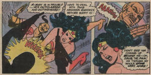 Wonder Woman Head KO