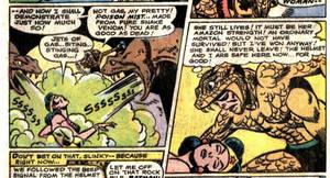 Wonder Woman Gassed