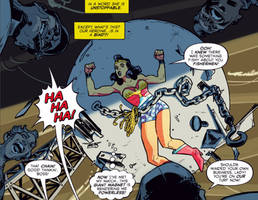 Wonder Woman Captured and Chained 1