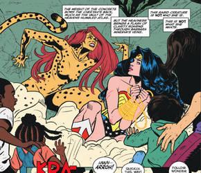 Wonder Woman Hands Tied 2