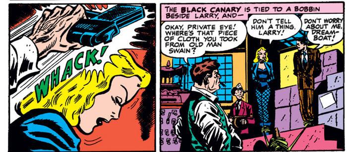 Black Canary Head KO
