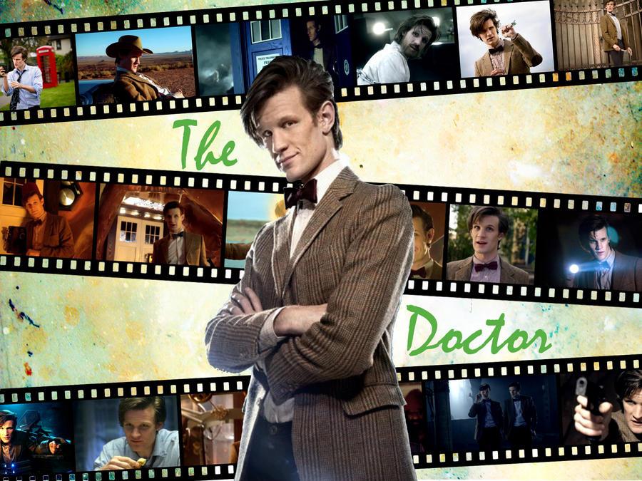 11th Doctor Wallpaper by davids-little-star