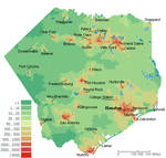 Population Density Of The Republic Of Texas