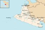 Political Map of Hadhramat