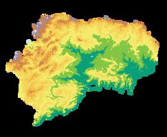 Lylybium Geography Basemap
