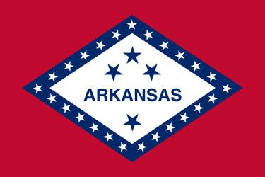 Flag of Arkasnas - Bravura USA