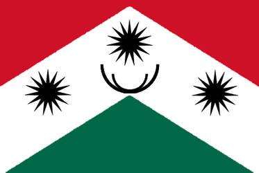 Flag of Sonora  - Bravura USA