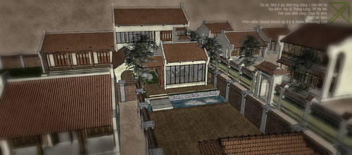 Countryside house by cactusvn