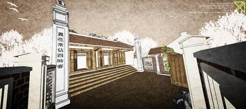 Clan ancestral house (House altar) by cactusvn