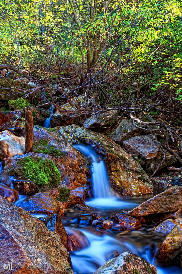 Blue Waterfall by mjohanson