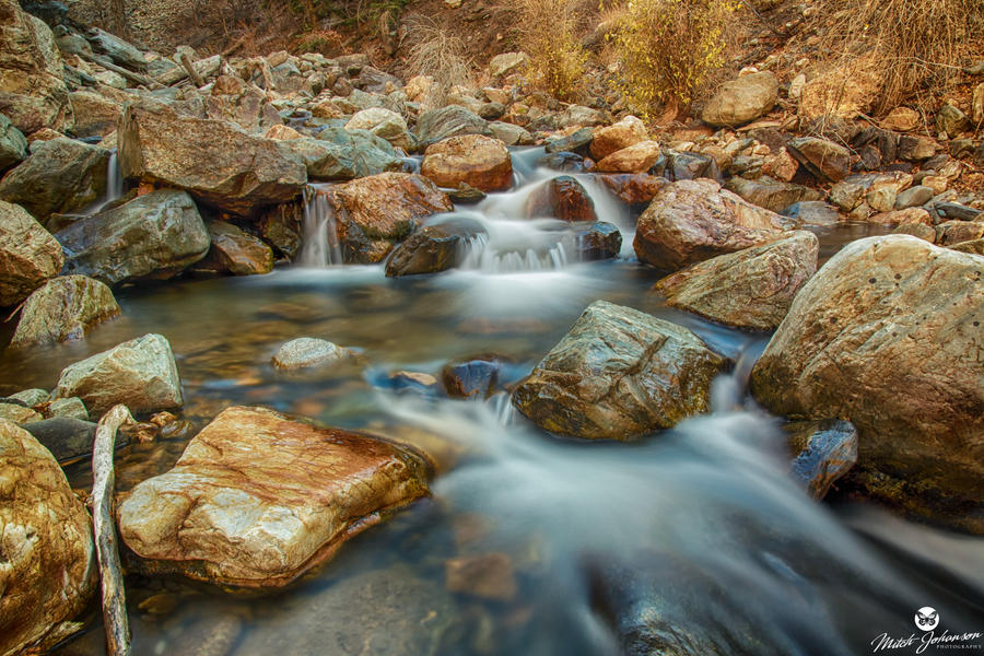 Water From One Rock to the Next by mjohanson