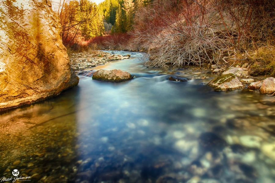 Two Tone River by mjohanson