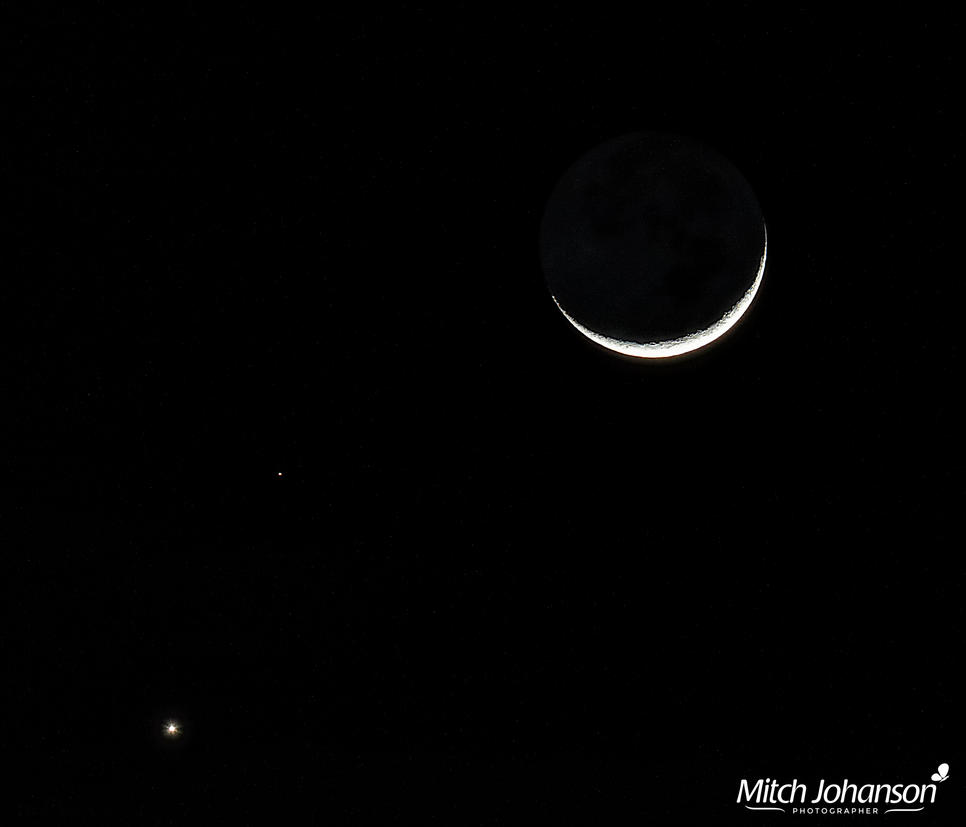 The Moon and Planets by mjohanson