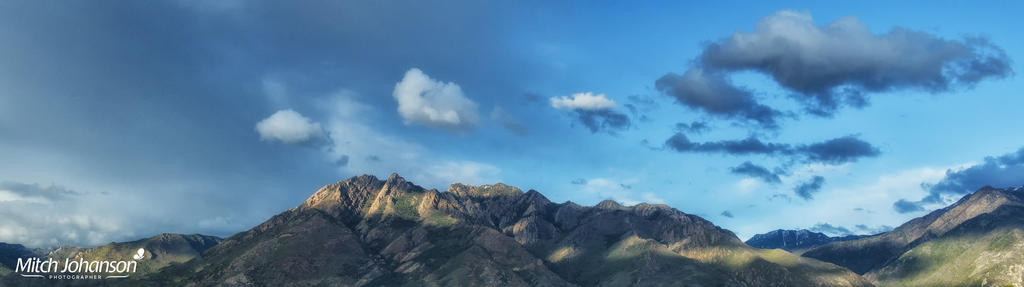 Springtime Wasatch Pano by mjohanson