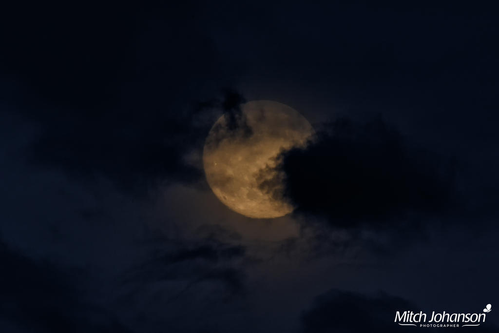 Clouds and a Moon by mjohanson