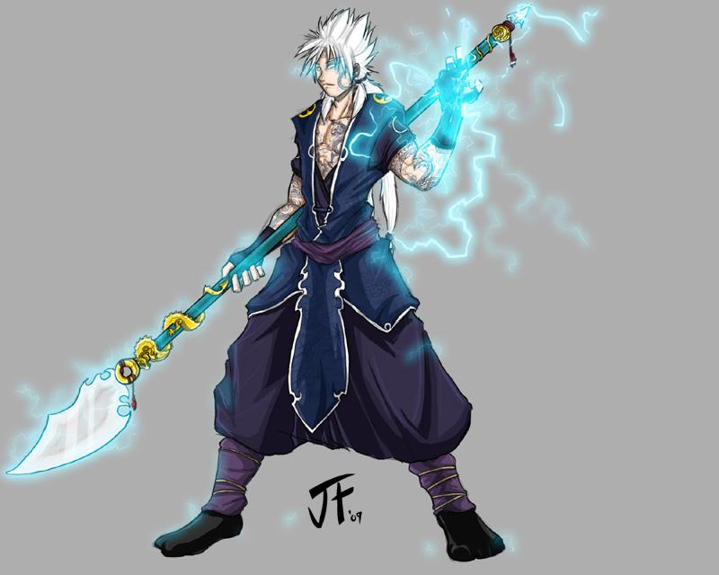 Kurosaki Ichiro Thunder_and_Lightning_by_JLoneWolf