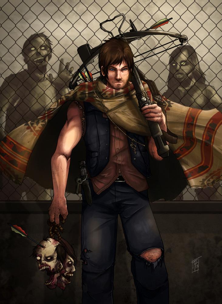 Daryl Dixon by JLoneWolf