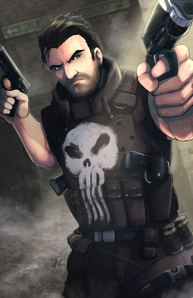 The Punisher by JLoneWolf