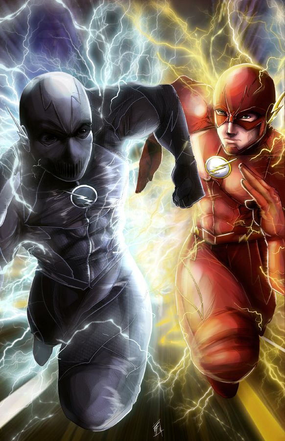 flash vs zoom by jlonewolf on deviantart