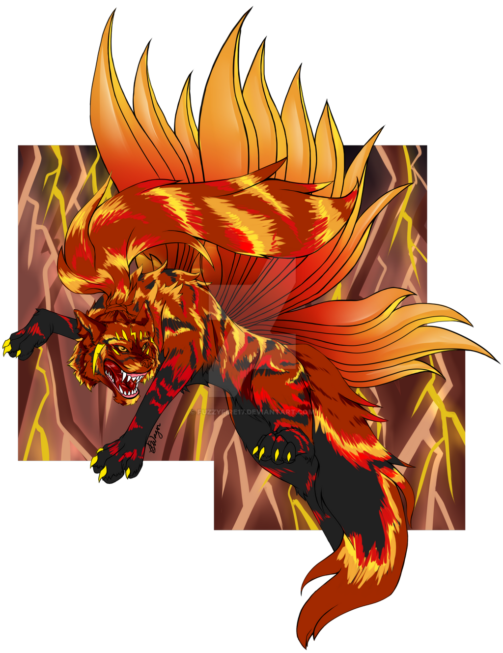 [NBM] Amosastra Reborn by Fuzzyfire17