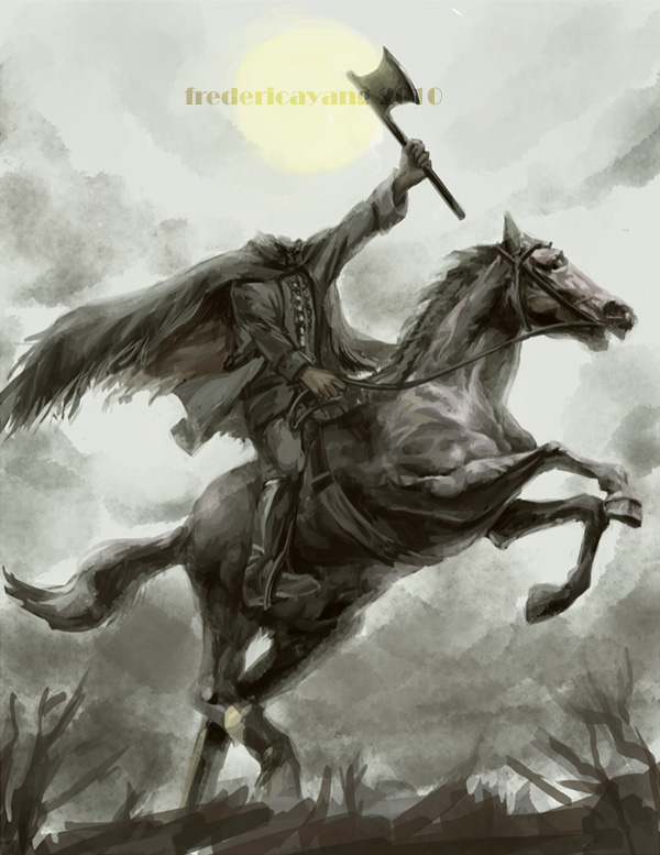 Headless horseman by fredericayang on deviantart - Pictures of the headless horseman ...
