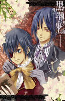 Black butler by fredericayang
