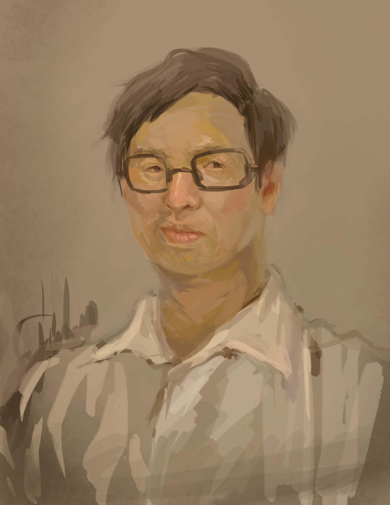 portrait by fredericayang