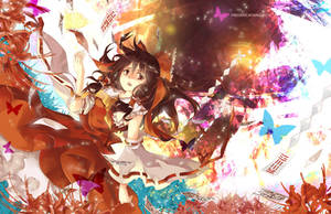 .TouHou. Reimu by fredericayang