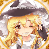.TouHou.Marisa by fredericayang