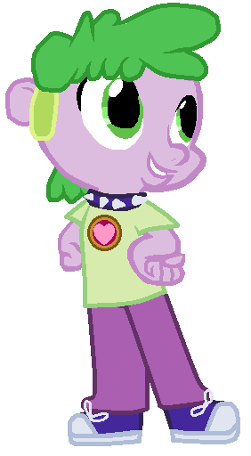 Spike the Human Equestria Girls: Done Right by CrazyCartoonFanatic
