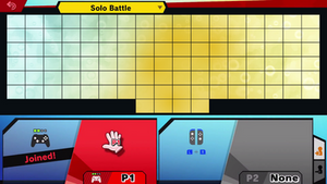 Super Smash Bros. Ultimate Roster Template