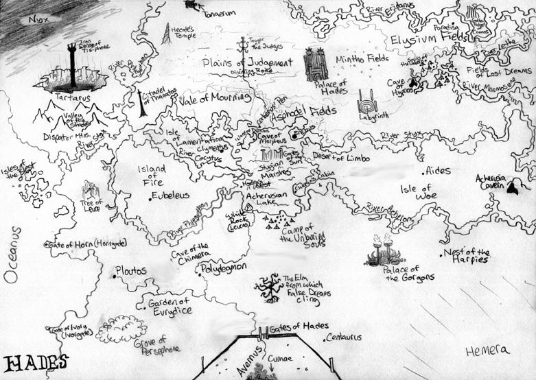 Image Gallery of Map Of Hades